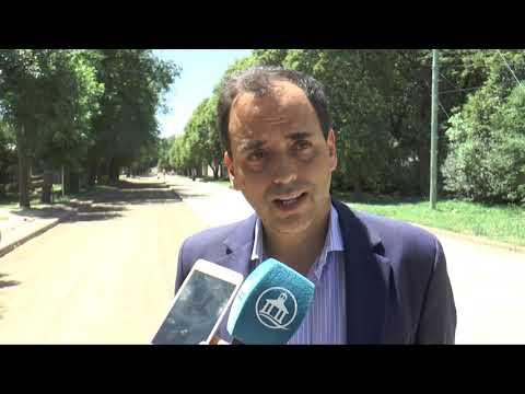 El municipio realizó la pavimentación en Guardias Nacionales