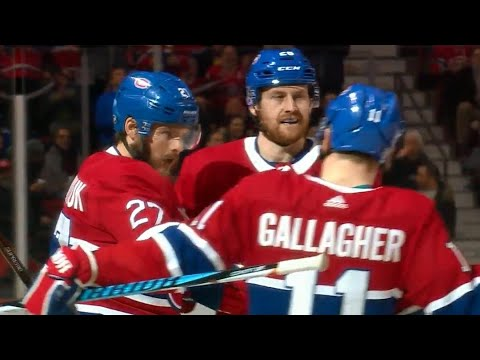 Video: Canadiens' Galchenyuk rips vicious blast off-the-post and in