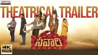 Savaari Movie Theatrical Trailer   Nandu, Priyanka Sharma   Saahith Mothkuri