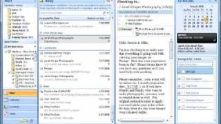 Outlook and OneNote integration tasks, meetings, contacts and email