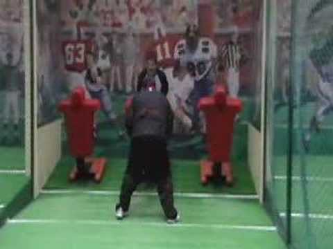 Bob's NFL Tryout
