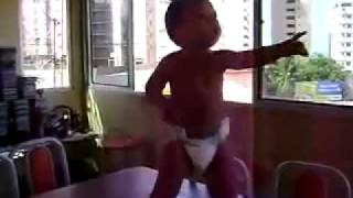 Learn how to dance like this baby! www.bachataymas.com.