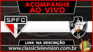 São Paulo x Vasco Ao vivo HD 18/10/2015