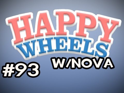 Happy Wheels w/Nova Ep.93 - Ride The Sexy Mechanical Bull Video