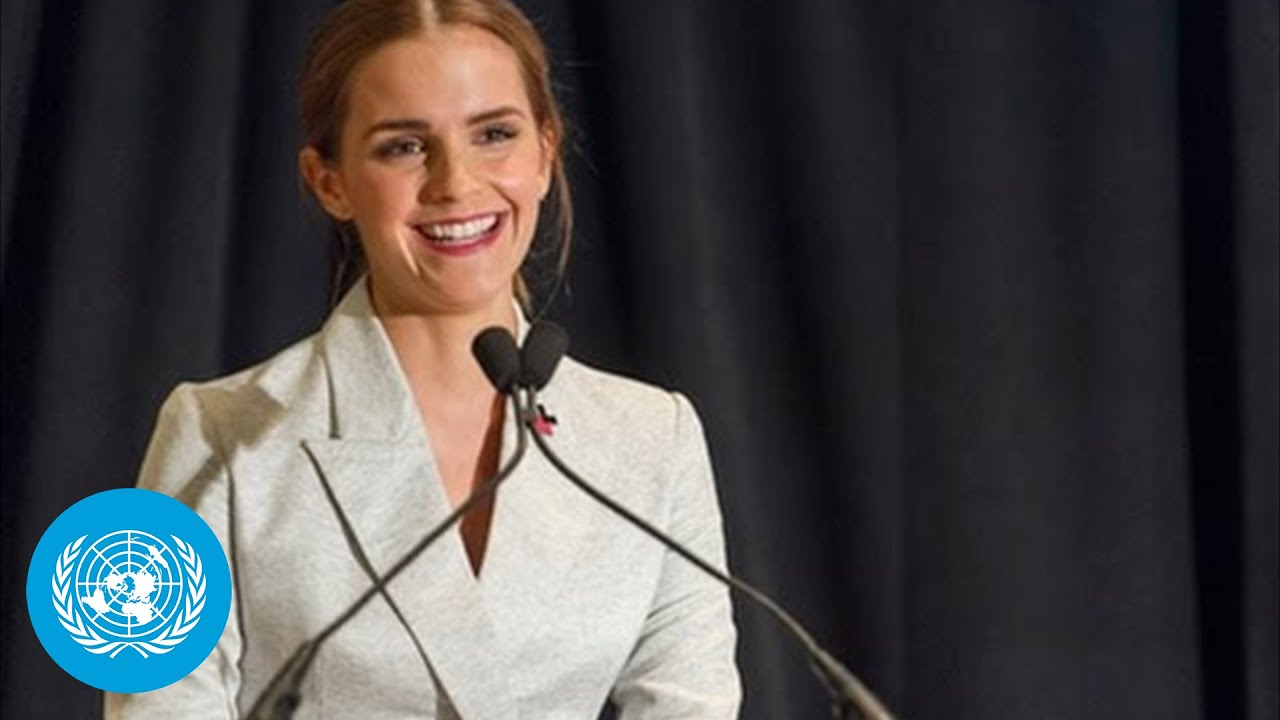 Emma Watson at the HeForShe Campaign 2014