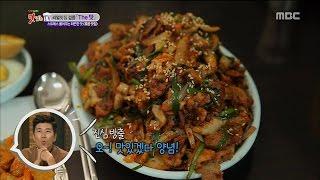 [K-Food] Spot!Tasty Food 찾아라 맛있는 TV - stir-fried spicy pork (Balsan-dong, Gangseo-gu) 제육볶음 20150905, MBCentertainment,radiostar