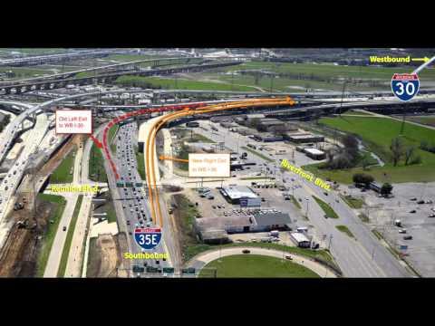 Major Changes to I-30 & I-35E