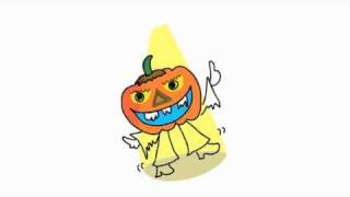 Pumpkin Halloween Dance Song for Kids, Halloween Song