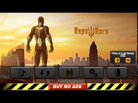 Rope Hero 3 - Android Gameplay #101