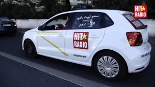 Baba Momo a conduit la Volkswagen Polo HIT RADIO