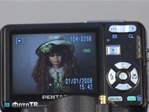PENTAX Optio A40. Видеоприложение к тесту.