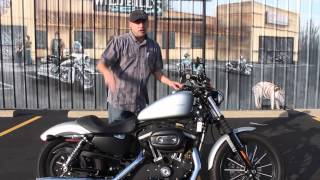 2. Pre-Owned 2009 Harley-Davidson Sportster 883 Iron