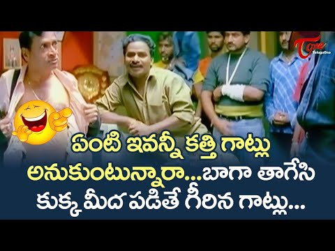 MS Narayana  & Venu Madhav Best Comedy Scenes | Telugu Comedy Videos | TeluguOne