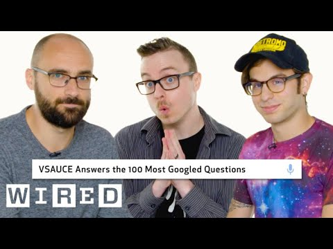 Vsauce Answers the 100 Most Googled Questions   WIRED