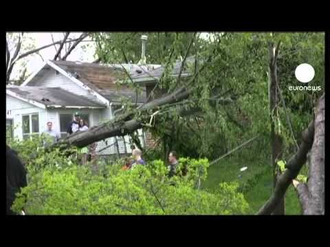YouTube Video - Tornado in Missouri (fonte: euronews)