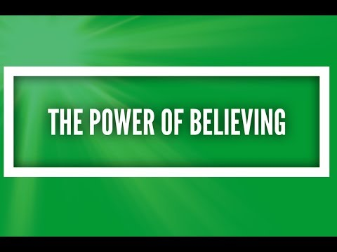 The Power of Believing: Self-Talk