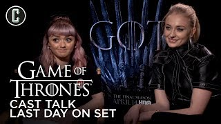 Game of Thrones Cast Talk Last Day On Set by Collider