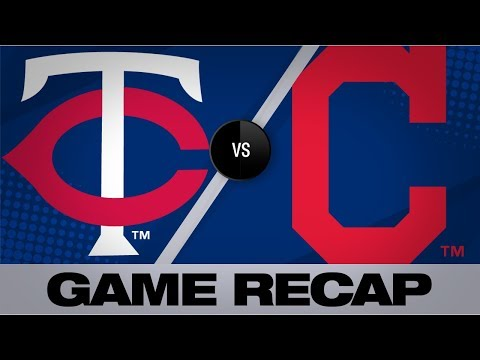 Video: Santana's clutch homer powers Indians to win | Twins-Indians Game Highlights 7/14/19