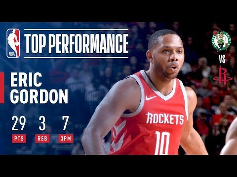 Eric Gordon Drops 13 pts In The 4th En Route To The Rockets 15th Straight Win!