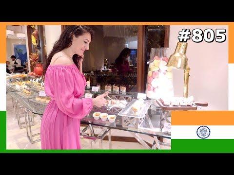 LEELA HOTEL MUMBAI: YOU WON'T BELIEVE THIS INDIAN FOOD BUFFET DAY 805 | TRAVEL VLOG IV