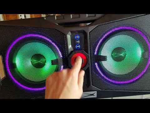 Altec Lansing Xpedition 8 Blue Tooth Speaker Review & Demo