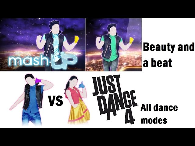 Beauty And A Beat Just Dance 4 Mashup Vs And Pm