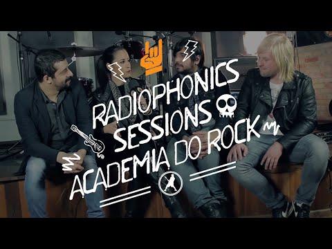 Academia do Rock TV - Banda Radiophonics