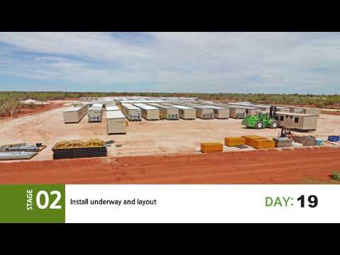 Ausco Mobile - Roy Hill Accommodation Mobile Camp