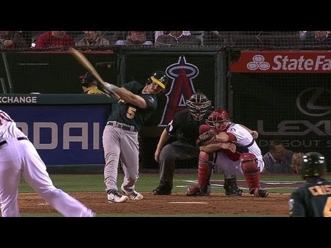Video: Jaso's three-run homer