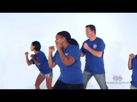 Learn the American Cancer Society Fight Back Line Dance