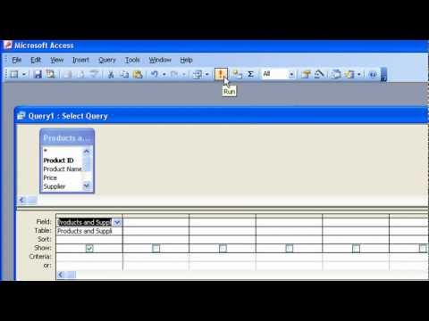 Access - Visit MotionTraining at http://www.motiontrainingweb.com. This overview of Microsoft Access covers setting up a simple Access database, complete with Table, ...