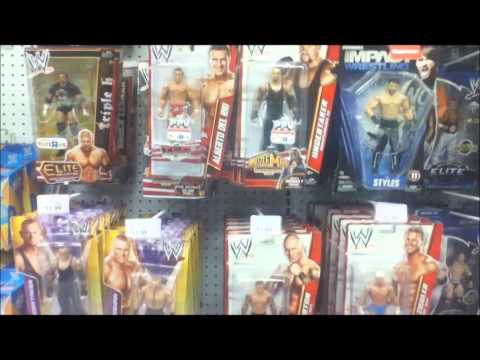 WWE Toy Store Hunt: Target, Toys R Us! Mattel Wrestling pictures!!