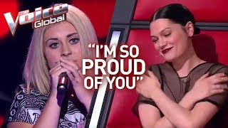 "Video Jessie J's ""little sister"" in The Voice 
