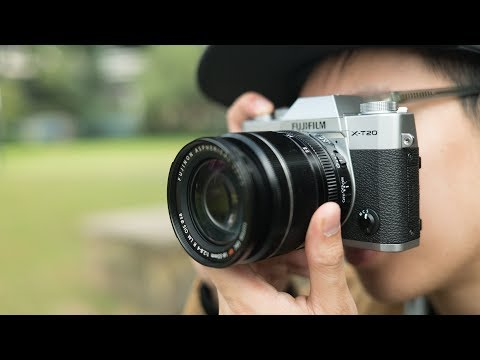 Fujifilm X-T20 Compact Mirrorless Camera Body Only video