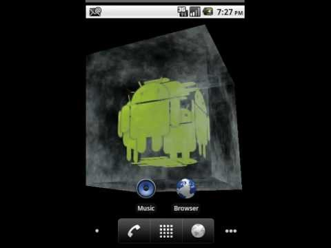 Video of Android Ice Cube 3D Wallpaper