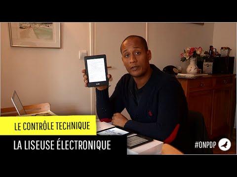 Contrôle technique: les liseuses électroniques