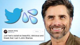 John Stamos Reads Thirst Tweets