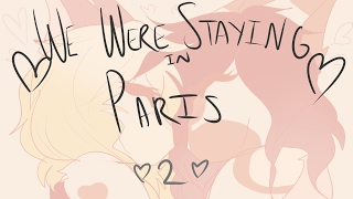 we were staying in paris 2