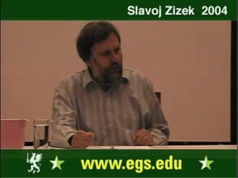 Slavoj Zizek. Plea for Ethical Violence. 2004 6/6