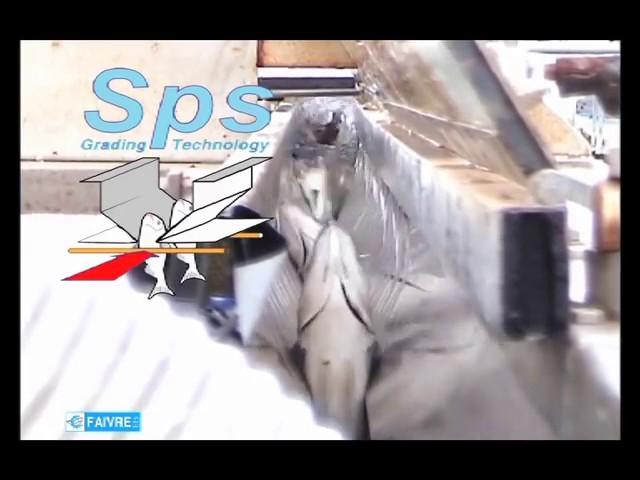 Сортировка моского окуня на рыбной ферме во Франции-FAIVRE RU
