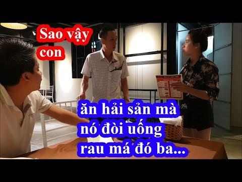 Liều mạng vào nhà hàng hải sản to nhất Sầm Sơn Thanh Hóa gọi ly rau má và cái kết giựt mình - Thời lượng: 27 phút.