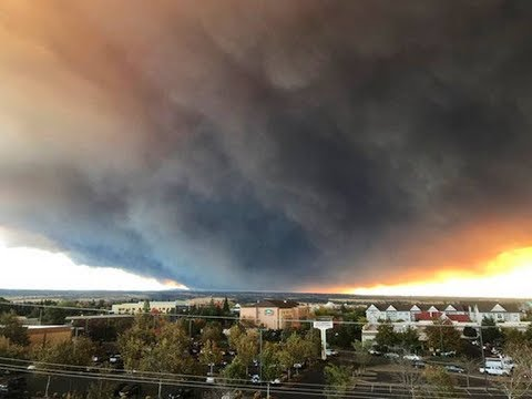 Camp Fire Wildfire In Butte County Jumps to 18,000 Acres