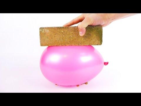 如何可以將一個汽球放到火上燒,但汽球不會爆掉呢?