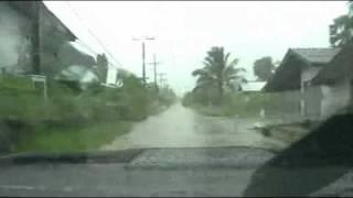 Hua Sai Thailand  city photos : South Thailand - Heavy Rain in Hua Sai