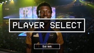 Player Select features pro gamers, talent, and OGs from the floor of EVO 2017. Featuring Saleem Young 'MVP Salem' on Day 3.----------------------------------------------------------------------This is Red Bull eSports; your digital source for the latest news, tournament coverage, interviews, video features, and broadcasts for the Red Bull competitive gaming family.Follow us on Twitter: https://twitter.com/redbullesportsLike Red Bull eSports on Facebook: https://www.facebook.com/redbullesports/Subscribe: http://win.gs/SubToeSports