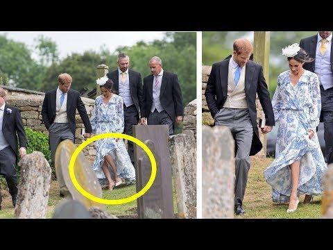 Prince Harry saved Meghan Markle from a fall like (видео)