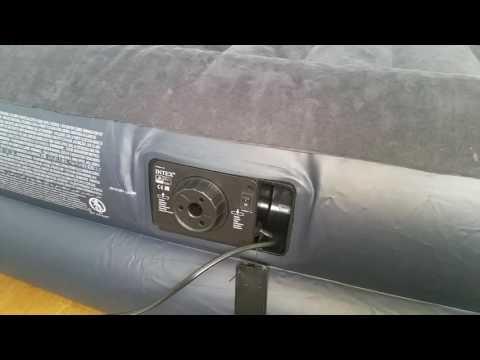 Luftbett mit elektrischer Pumpe - wie funktioniert es und wird es aufgeblasen bzw. entleert?