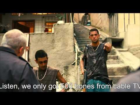 Rocha In The Favela - Marcinho's Death (Tropa De Elite 2, Elite Squad 2) Scene - HQ/HD