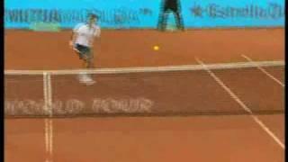 Madrid 2010: 3rd Round Roger v Wawrinka (Highlights Part 1)