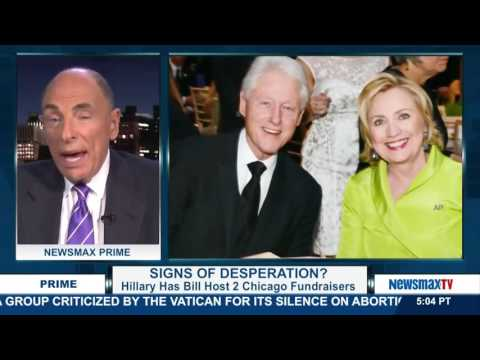 Newsmax Prime | Edward Klein discusses Hillary Clinton's failing campaign